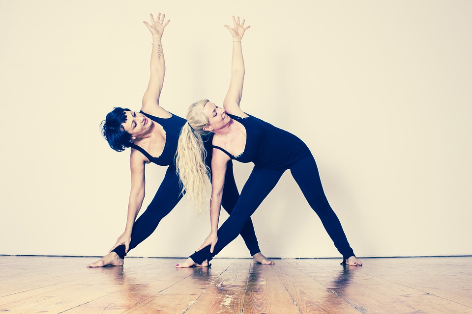 Pregnancy yoga free image